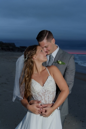 Teal_and_Grey_Wedding_Jennettes_Pier_Nags_Head_North_Carolina_Belle_Eve_Photography-7